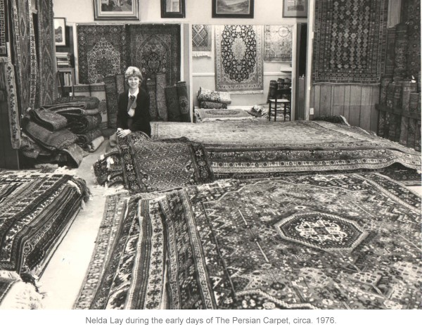 Nelda Lay of The Persian Carpet